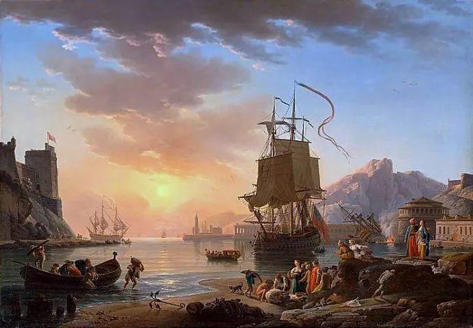 作品气势恢宏 法国18世纪风景画家韦尔内(1714-1789)插图23