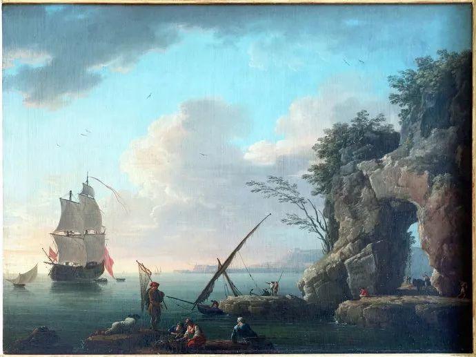 作品气势恢宏 法国18世纪风景画家韦尔内(1714-1789)插图25