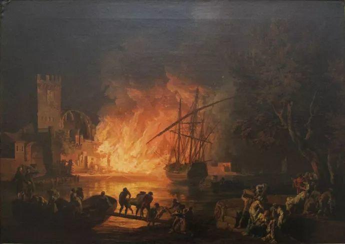 作品气势恢宏 法国18世纪风景画家韦尔内(1714-1789)插图27