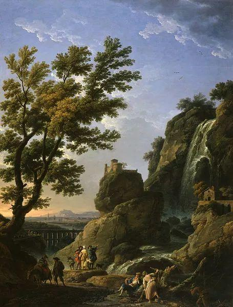作品气势恢宏 法国18世纪风景画家韦尔内(1714-1789)插图29