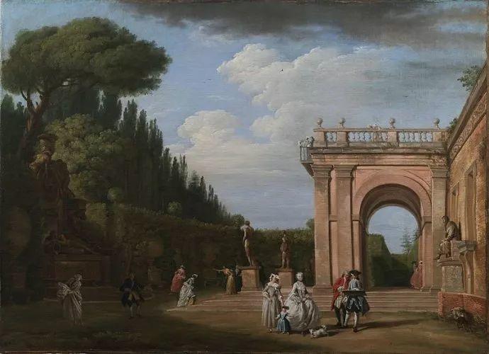 作品气势恢宏 法国18世纪风景画家韦尔内(1714-1789)插图33