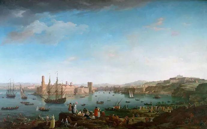 作品气势恢宏 法国18世纪风景画家韦尔内(1714-1789)插图35