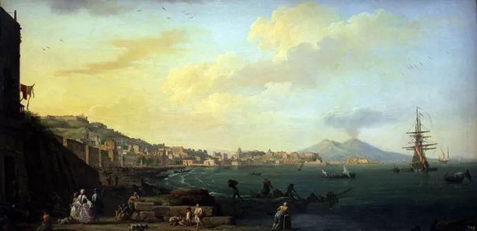 作品气势恢宏 法国18世纪风景画家韦尔内(1714-1789)插图37