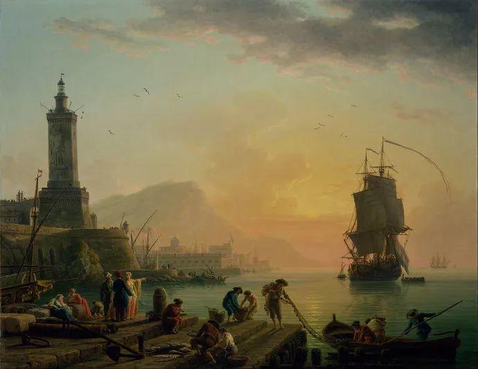 作品气势恢宏 法国18世纪风景画家韦尔内(1714-1789)插图41