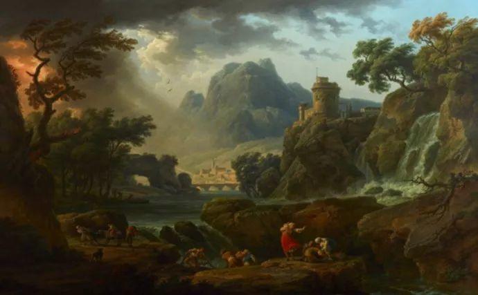 作品气势恢宏 法国18世纪风景画家韦尔内(1714-1789)插图47