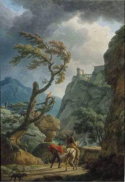 作品气势恢宏 法国18世纪风景画家韦尔内(1714-1789)插图49