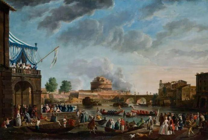 作品气势恢宏 法国18世纪风景画家韦尔内(1714-1789)插图53