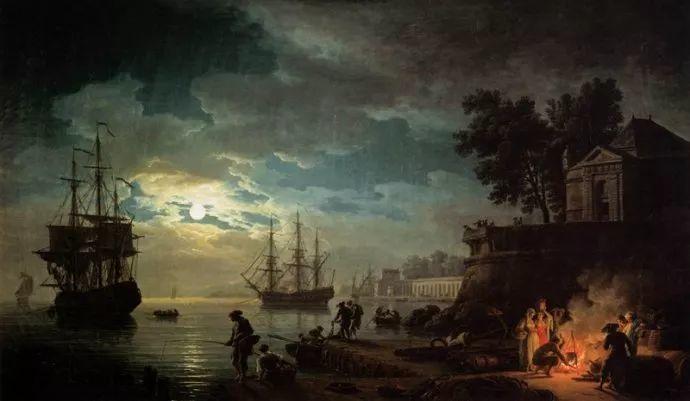 作品气势恢宏 法国18世纪风景画家韦尔内(1714-1789)插图55