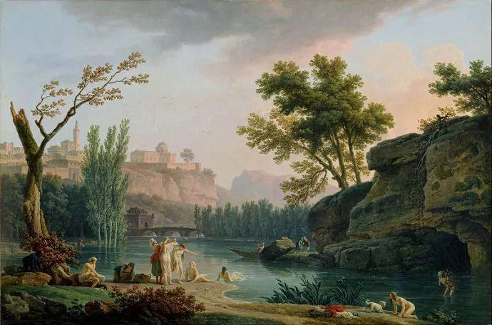 作品气势恢宏 法国18世纪风景画家韦尔内(1714-1789)插图57