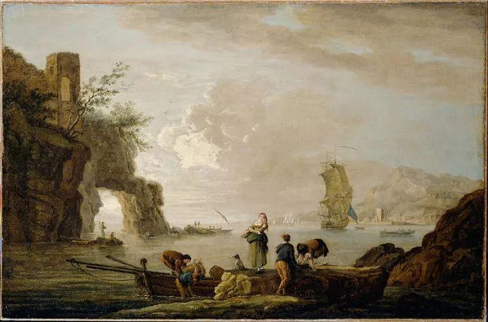 作品气势恢宏 法国18世纪风景画家韦尔内(1714-1789)插图59