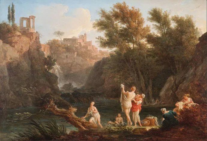 作品气势恢宏 法国18世纪风景画家韦尔内(1714-1789)插图61