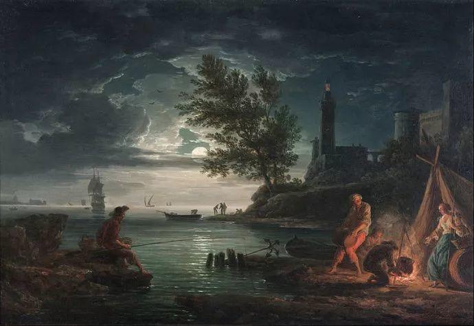 作品气势恢宏 法国18世纪风景画家韦尔内(1714-1789)插图63