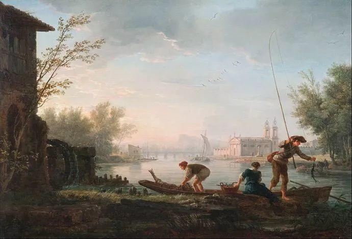 作品气势恢宏 法国18世纪风景画家韦尔内(1714-1789)插图65