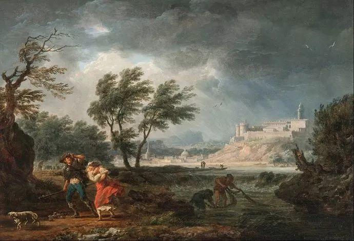 作品气势恢宏 法国18世纪风景画家韦尔内(1714-1789)插图67