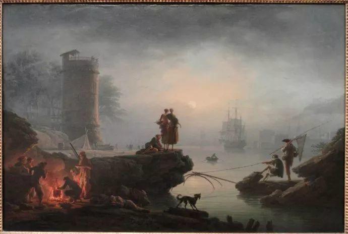 作品气势恢宏 法国18世纪风景画家韦尔内(1714-1789)插图69