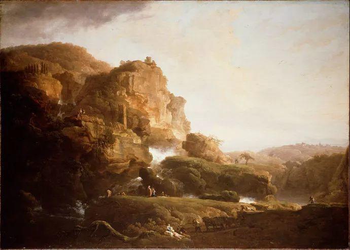 作品气势恢宏 法国18世纪风景画家韦尔内(1714-1789)插图71