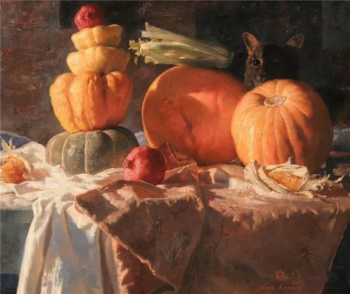 达吉斯坦画家阿森·卡巴诺夫作品欣赏插图1
