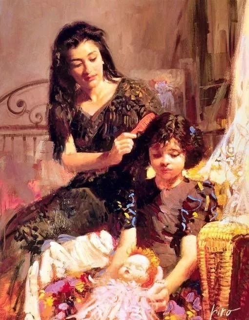 笔下美女无数 意大利当代画家皮诺·德埃尼插图39