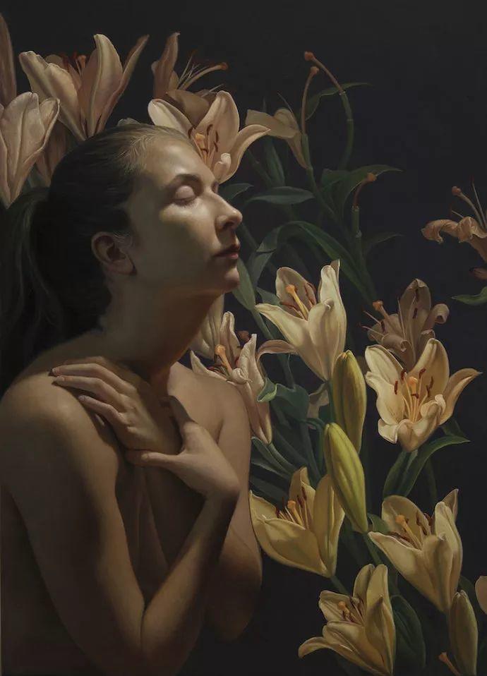 花卉绘画 美国女画家Nancy Depew作品欣赏插图5