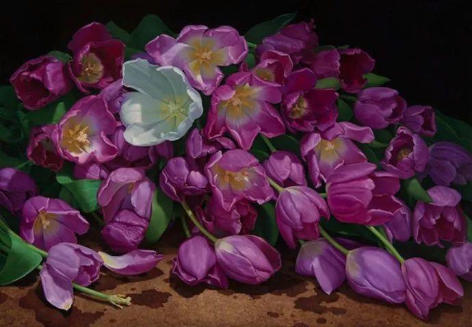 花卉绘画 美国女画家Nancy Depew作品欣赏插图25