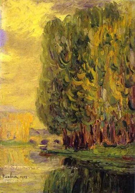法国前卫画家毕卡比亚(1879-1953)插图3