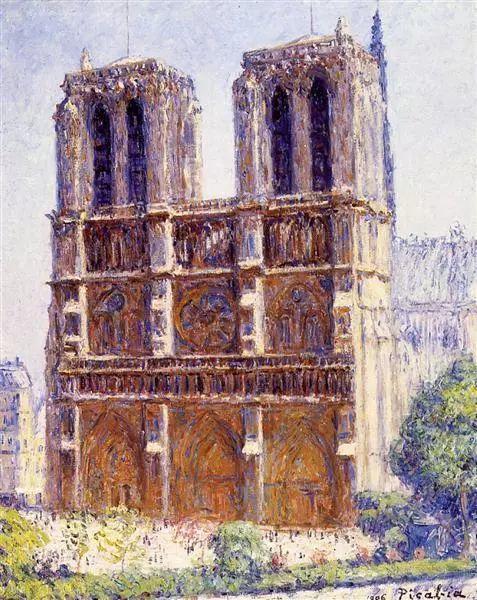 法国前卫画家毕卡比亚(1879-1953)插图13