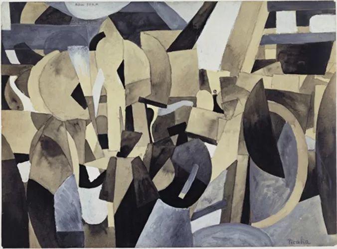法国前卫画家毕卡比亚(1879-1953)插图35