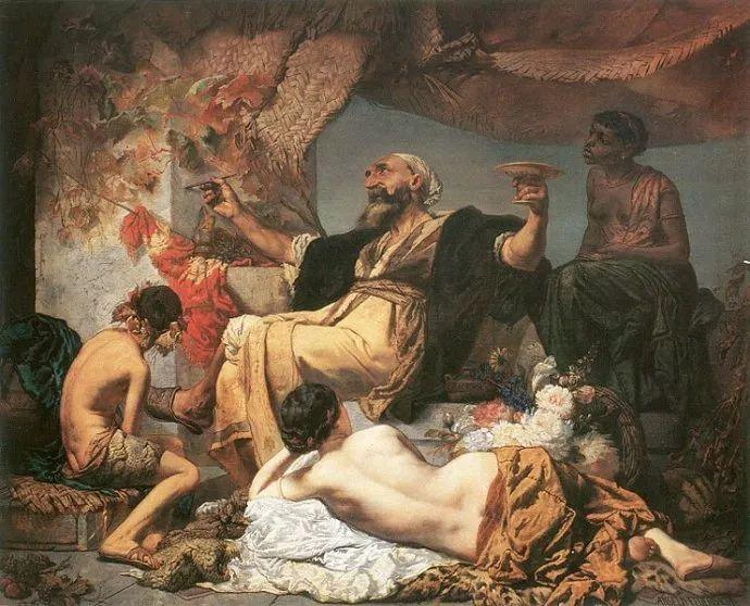 德国罗马派的著名代表人物安塞姆·费尔巴哈(1829-1880)插图1
