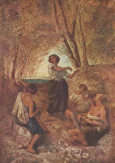 德国罗马派的著名代表人物安塞姆·费尔巴哈(1829-1880)插图11