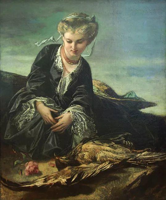 德国罗马派的著名代表人物安塞姆·费尔巴哈(1829-1880)插图17