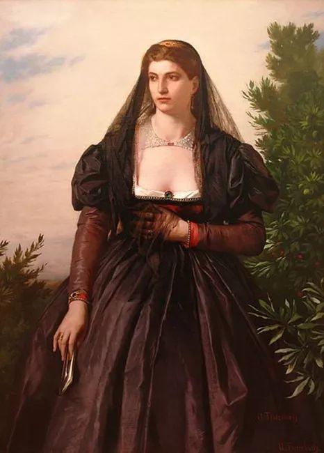 德国罗马派的著名代表人物安塞姆·费尔巴哈(1829-1880)插图23