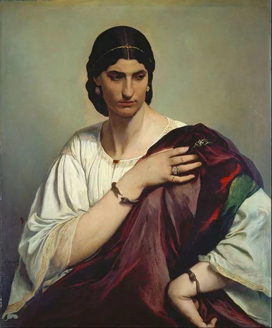 德国罗马派的著名代表人物安塞姆·费尔巴哈(1829-1880)插图27