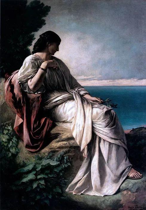 德国罗马派的著名代表人物安塞姆·费尔巴哈(1829-1880)插图33