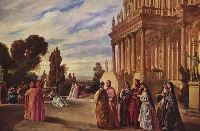 德国罗马派的著名代表人物安塞姆·费尔巴哈(1829-1880)插图35