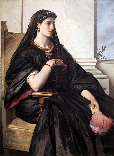 德国罗马派的著名代表人物安塞姆·费尔巴哈(1829-1880)插图45