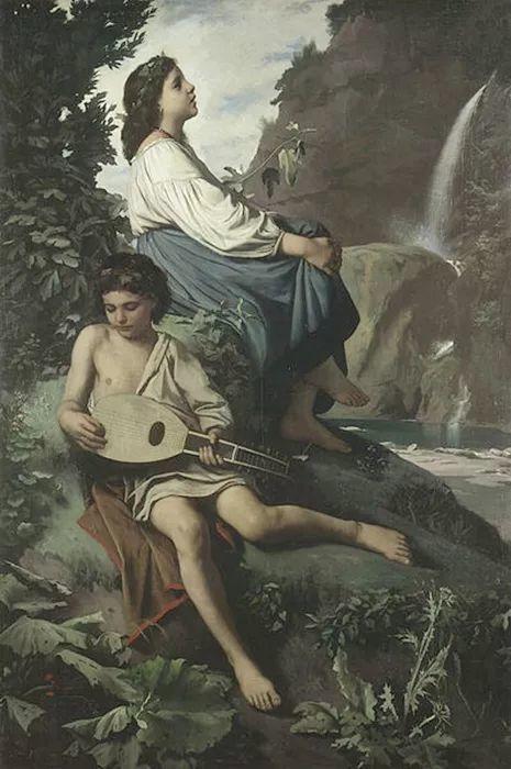德国罗马派的著名代表人物安塞姆·费尔巴哈(1829-1880)插图47