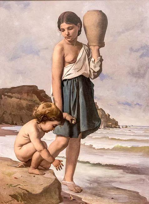 德国罗马派的著名代表人物安塞姆·费尔巴哈(1829-1880)插图52