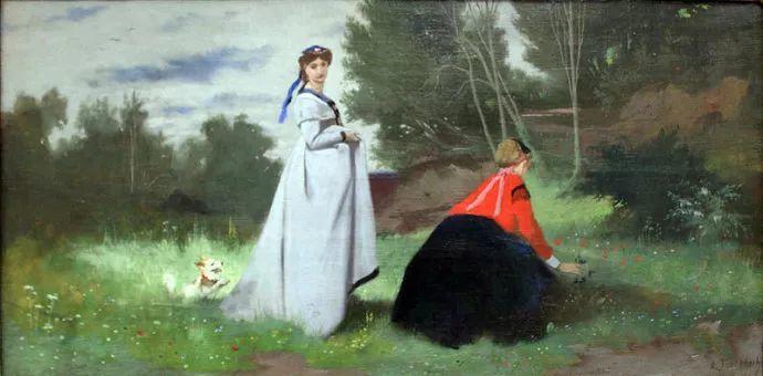 德国罗马派的著名代表人物安塞姆·费尔巴哈(1829-1880)插图54
