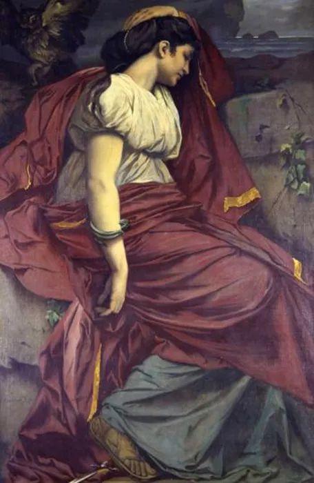 德国罗马派的著名代表人物安塞姆·费尔巴哈(1829-1880)插图58