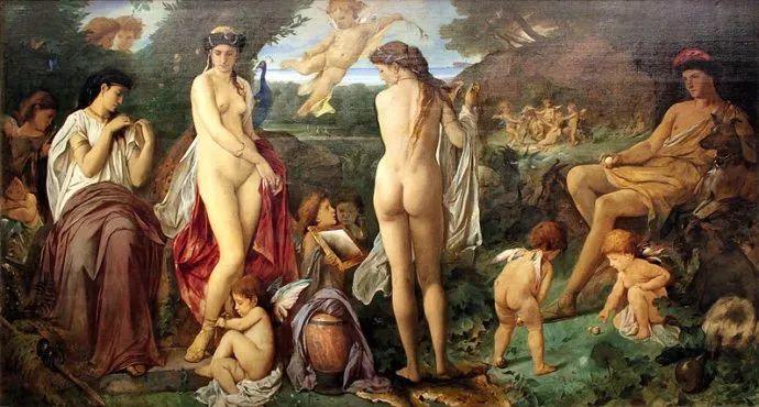 德国罗马派的著名代表人物安塞姆·费尔巴哈(1829-1880)插图60