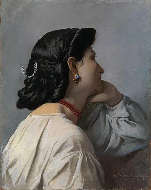 德国罗马派的著名代表人物安塞姆·费尔巴哈(1829-1880)插图62