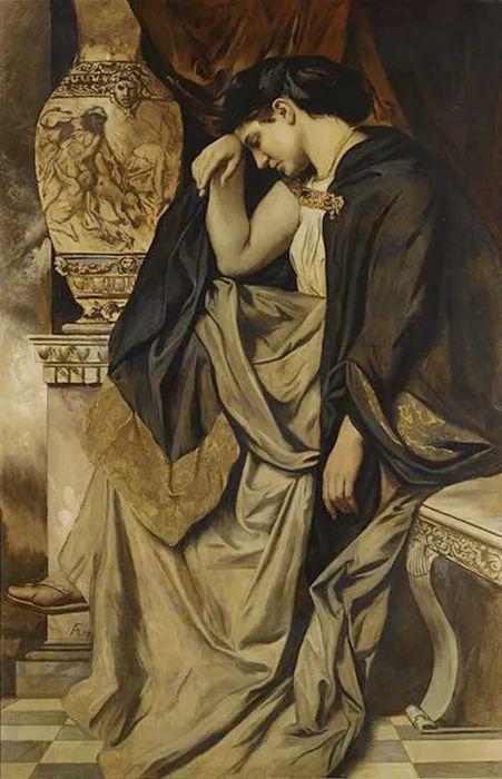 德国罗马派的著名代表人物安塞姆·费尔巴哈(1829-1880)插图66