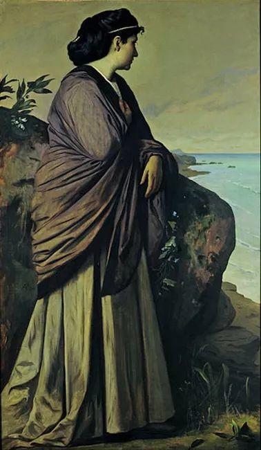 德国罗马派的著名代表人物安塞姆·费尔巴哈(1829-1880)插图72