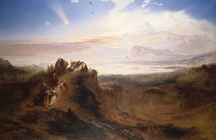 浪漫主义 英国画家约翰·马丁(1789-1854)插图1