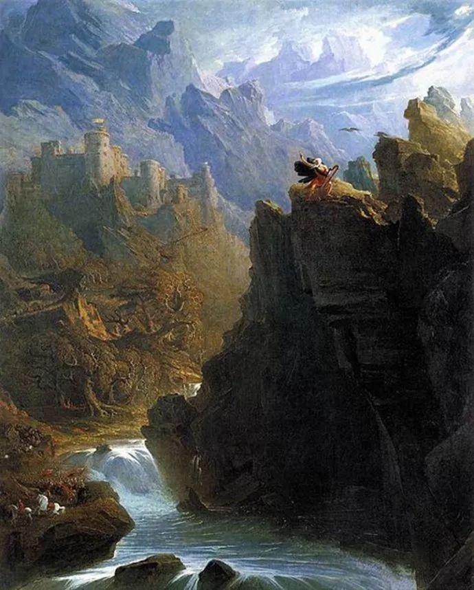 浪漫主义 英国画家约翰·马丁(1789-1854)插图3