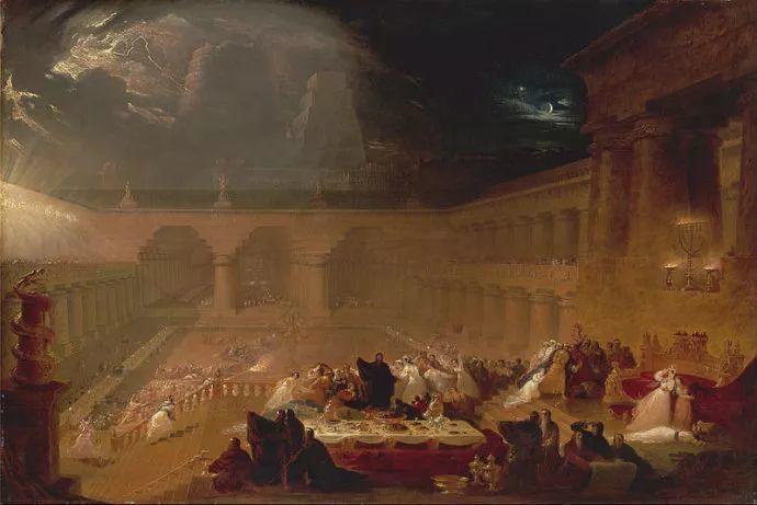 浪漫主义 英国画家约翰·马丁(1789-1854)插图5