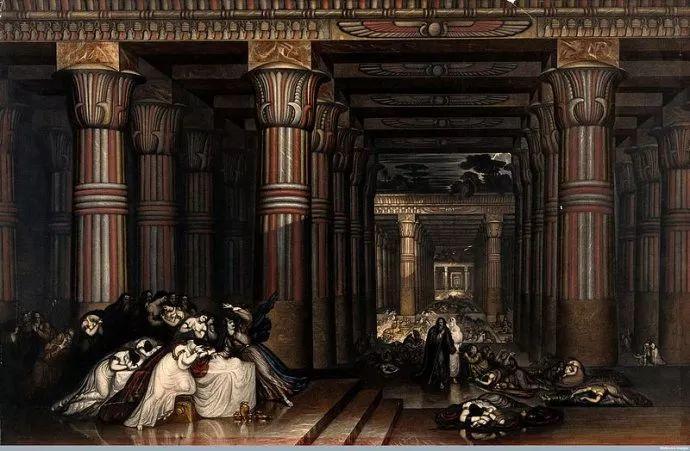 浪漫主义 英国画家约翰·马丁(1789-1854)插图7
