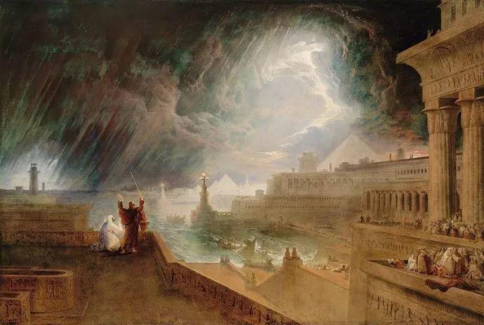 浪漫主义 英国画家约翰·马丁(1789-1854)插图11