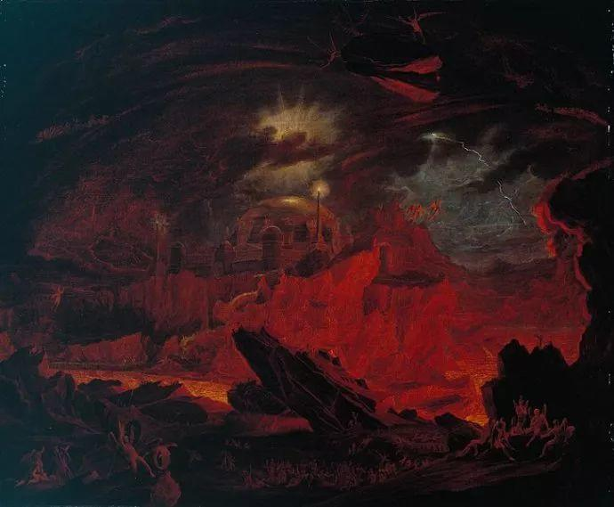 浪漫主义 英国画家约翰·马丁(1789-1854)插图13