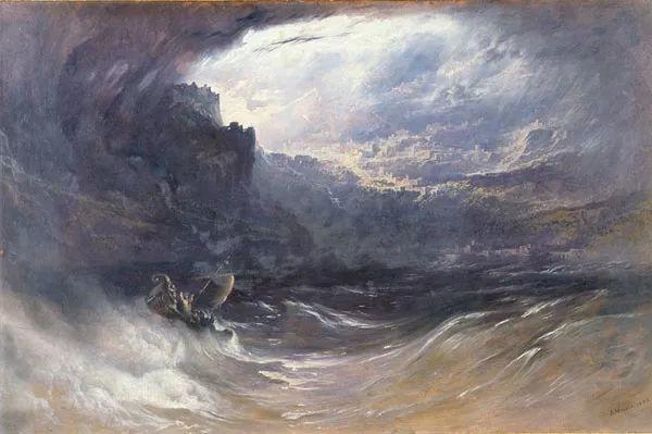 浪漫主义 英国画家约翰·马丁(1789-1854)插图19